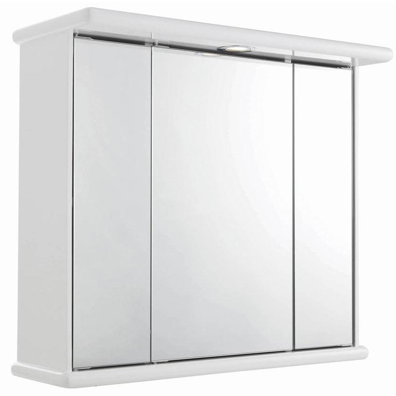 Bathroom radiators towel rails b q - Home Of Ultra Cryptic Triple Door Mirror Cabinet