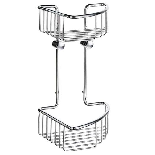 Sideline Wall Small Double Corner Basket