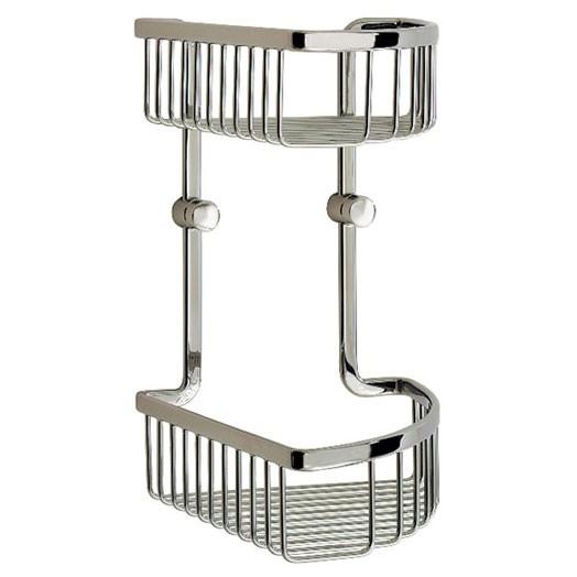 Loft Two Tier Corner Soap Basket
