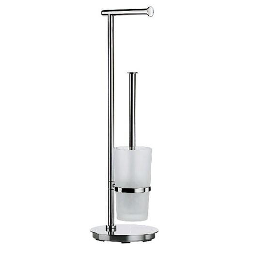 Outline Lite Round Toilet Roll & Brush Holder