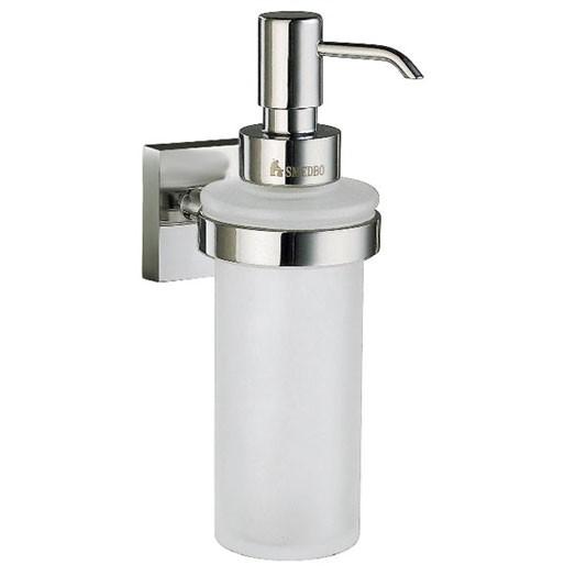 House Wall Glass Soap Dispenser