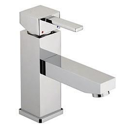 Quadrato Basin Mixer No Waste