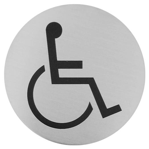 Urban Steel Disabled Bathroom Sign