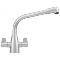 Franke Davos Monobloc Sink Mixer Silk Steel