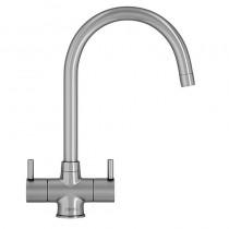 Franke Athena Monobloc Sink Mixer Silk Steel