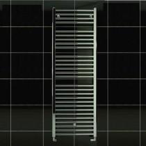 TS 600 x 1430 Towel Rail Flat Chrome Pack