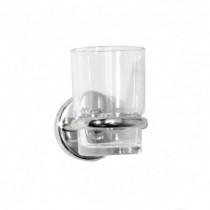 Wessex Glass Tumbler & Holder