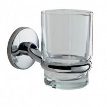 Lincoln Glass Tumbler & Holder