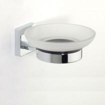 Glide Glass Soap Dish & Holder