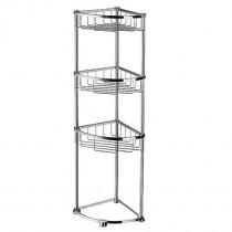 Sideline Freestanding Triple Corner Basket