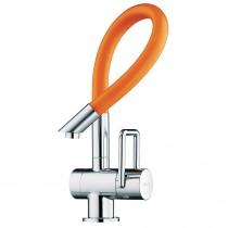 Arwa Twinflex Kitchen Mixer with Flexible Spout Orange