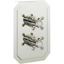 Crosswater Belgravia Crosshead Dual Control Shower valve 3 Way Nickel