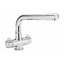 CT1 Quarter Turn Monobloc Kitchen Sink Mixer