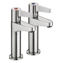 Design Utility Lever High Neck Pillar Taps