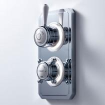 Crosswater Belgravia Lever Dual Outlet Digital Shower/Shower LP DUOBLLP_LV