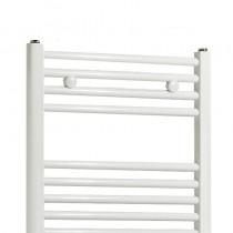 TS 600 x 1150 Towel Rail Flat White Pack