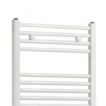 TS 400 x 600 Towel Rail Flat White Pack