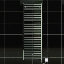 TS 600 x 1430 Electric Towel Rail Flat Chrome