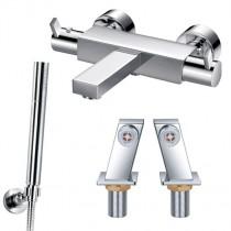 STR8 Thermostatic Deck Bath Shower Mixer