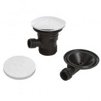 Bristan Round Clicker Bath Waste with Overflow