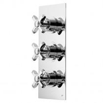 Wessex Concealed Inline Triple Shower Valve