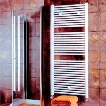 Design Flat 400 x 800 White Towel Rail