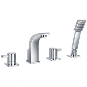 Essence Four Hole Bath Shower Mixer